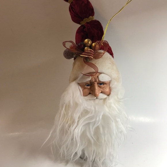 How to make a Santa Ornament with Paper Mache! | 580x580